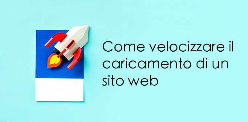 Velocizzare caricamento sito web